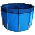 Kruhová nádrž pre KOI 150x76cm