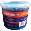 Aqua Nova štrk fluo žltý 5 kg, 3 l
