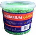 Aqua Nova štrk fluo modrý 5 kg, 3 l