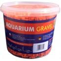 Aqua Nova štrk fluo oranžový 5 kg, 3 l