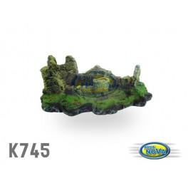 Aqua Nova zrúcanina hradu