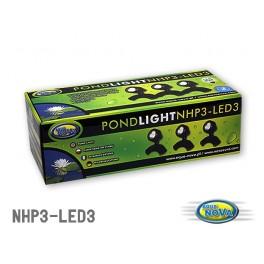 AQUANOVA Osvetlenie do jazierka NPL2-LED 3 x 2,2W